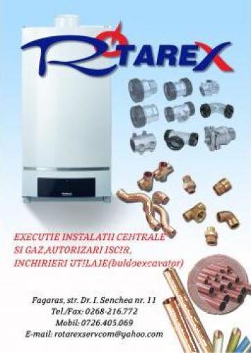 Montaj, instalare si puneri in functiune centrale termice de la Rotarex Servcom S.r.l.