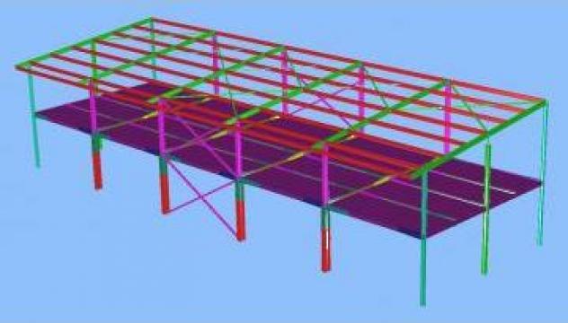 Constructii metalice, hale de productie si depozite