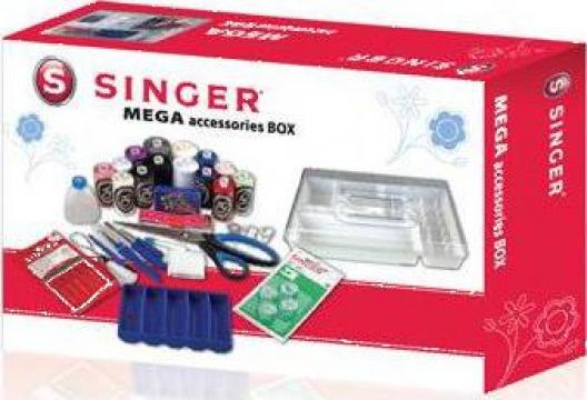 Set accesorii masini de cusut Singer Megabox
