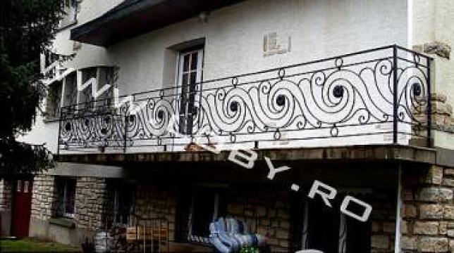 Balcoane si terase din fier forjat Perla 2 de la Loby Design