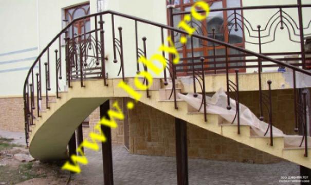Balcon si terasa din fier forjat Stil de la Loby Design