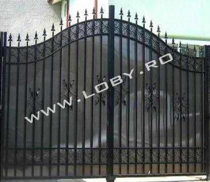 Poarta din fier forjat Elegant de la Loby Design
