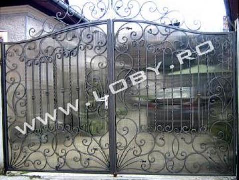 Porti si garduri din fier forjat Elegant de la Loby Design