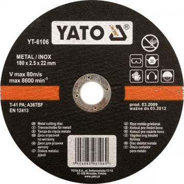 Disc taiat metal de 115 x 1