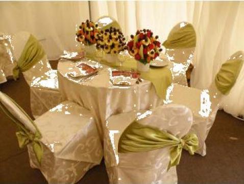Huse brocard ivoire pentru evenimente de la Buchete Delicioase