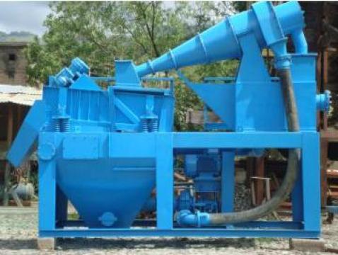 Spalator de nisip Hidrociclon, cap 25-30 mc/h de la Sc Sterlone Srl