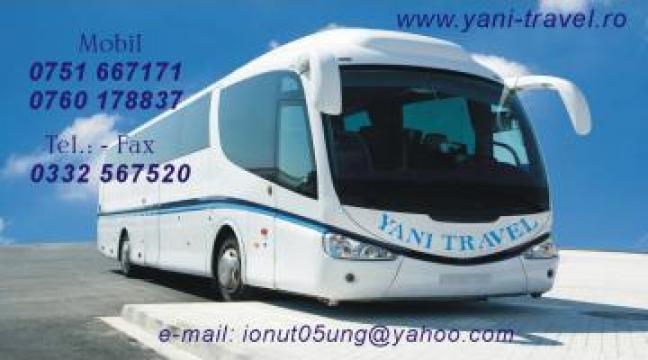 Transport persoane Curse persoane Brasov-Germania de la Yani Travel SRL