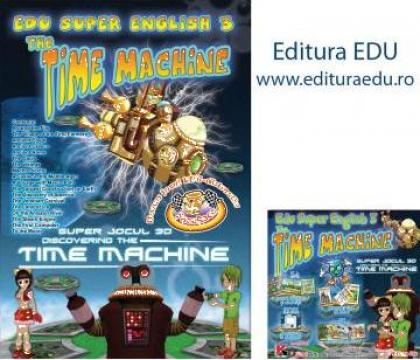 Joc Edu Super English III - Masina timpului
