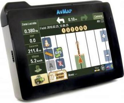 Sistem Navigatie GPS pentru agricultura moderna AvMap Italy de la Agroteam Trading Srl