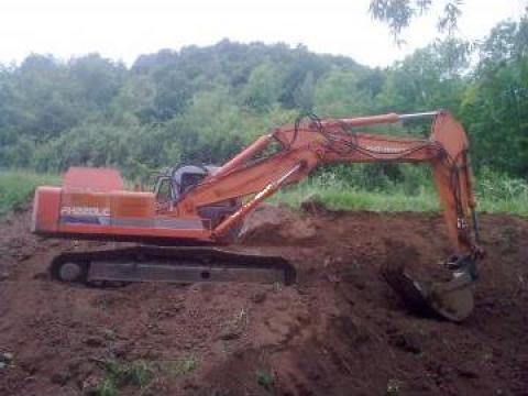 Inchiriere excavator Fiat-Hitachi de la Sc Lyv & Lyv Srl