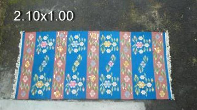 Covoare de lana taranesti realizate manual de la Casa Verde Star Srl