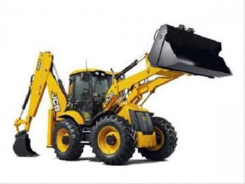 Inchiriere buldoexcavator cu picon si cupa de la Rotarex Servcom S.r.l.