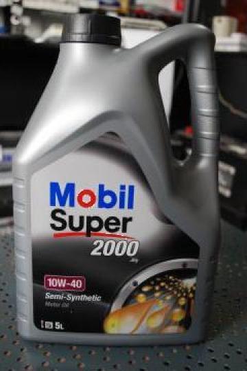 Ulei auto Mobil Super 2000 10W-40 5L de la Mvv Logan Auto Srl