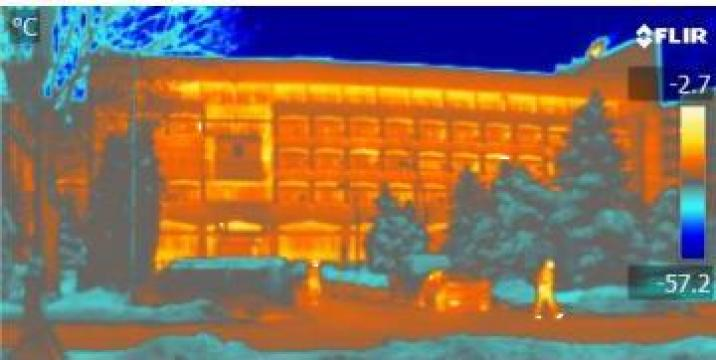 Termoviziune- scanari in infrarosu cladiri, instalatii de la I.I. Rusu Valentin