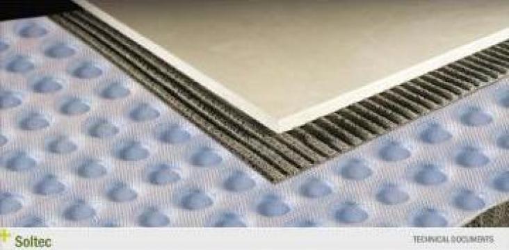 Membrana hidroizolanta pentru suprafete critice - Soltec de la DWR Ari Solutions Srl