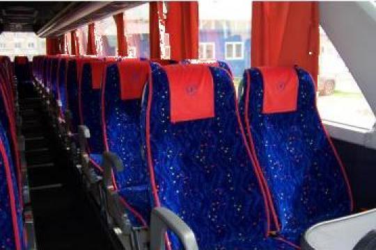 Tapitare, reconditionare interioare autocare si microbuze de la Sirius Srl