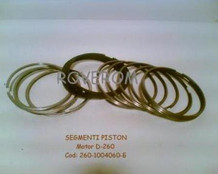 Segmenti piston motor D-260, MTZ, MAZ, ZIL