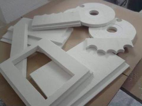 Executie piese din fibra ceramica si fibra solubila