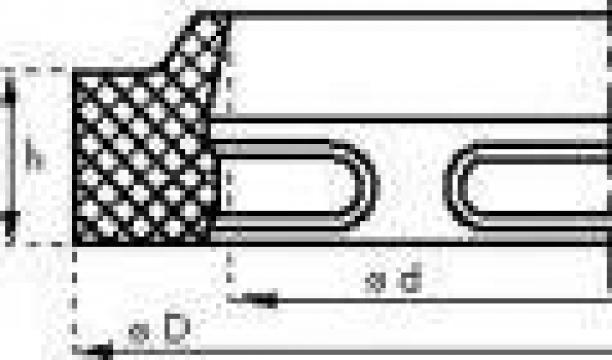 Garnituri din cauciuc raclor ptr. etansari de translatie