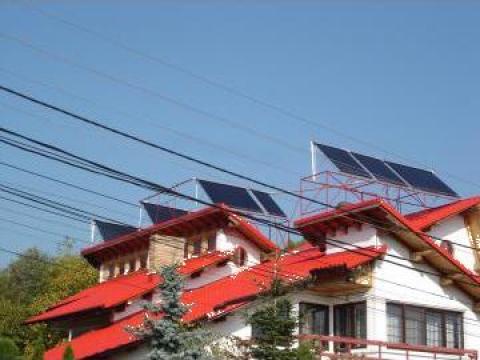 Instalatie solara pentru incalzire - casa 90 mp de la Fezer Echipamente
