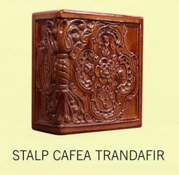 Soba teracota Stalp + placa Cafea Trandafir de la Fancris Srl