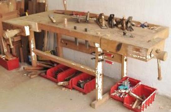 Banc lucru (tejghea) prelucrarea lemnului de la