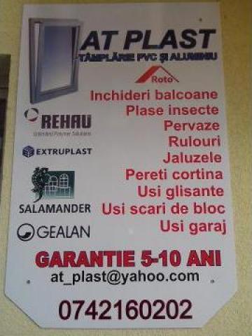 Tamplarie PVC si aluminiu de la At Plast