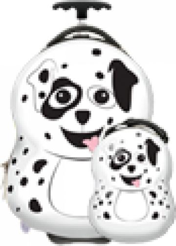 Valiza si ghiozdan copii Pupster the Dalmatian, Cuties Pals de la Stiki Concept Srl