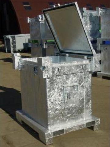 Container metalic ASP pentru substante periculoase