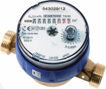 Contor de apa rece/calda BMeters GSD8-RFM DN 15, DN 20