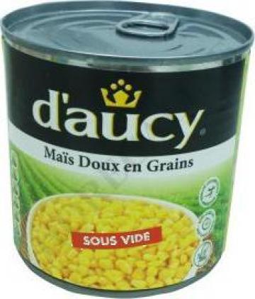 Porumb conservat D'Aucy 2150ml de la S.c. D&D Food S.r.l.