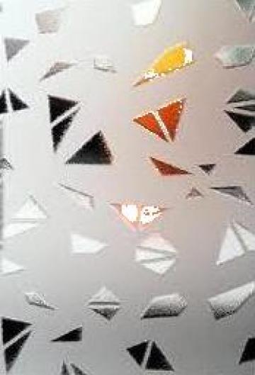 Geam decorativ Piramid de la Gip Srl
