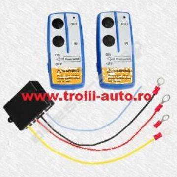 Telecomanda wireless 2 module de la Trolii-auto.ro