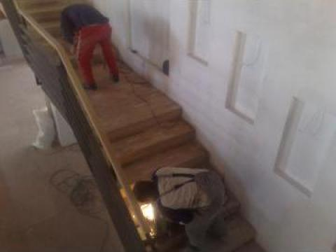 Placari scara cu lemn
