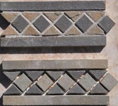 Mozaic din piatra naturala romaneasca de la I.i. Bmc