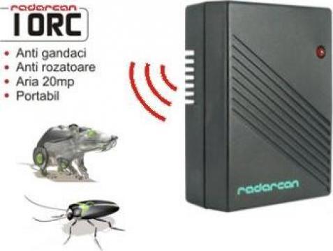 Aparat cu ultrasunete portabil anti gandaci 10RC de la Agan Trust Srl