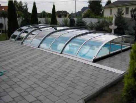 Acoperire piscina policarbonat