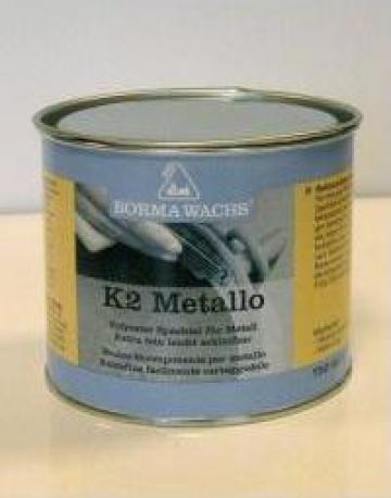 Chit bicomponent K2 pentru metale, cu intaritor de la Muzo Cons Srl