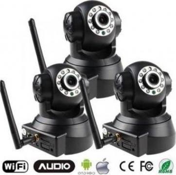 Camera supraveghere IP Wireless video camera de la Perfect P And C Com Srl