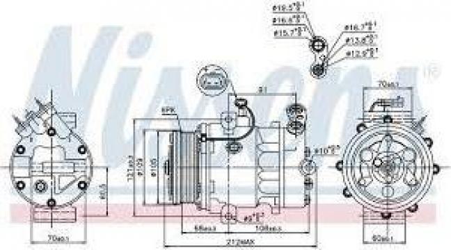 Compresor clima Opel Astra G de la Radiatoare Oradea