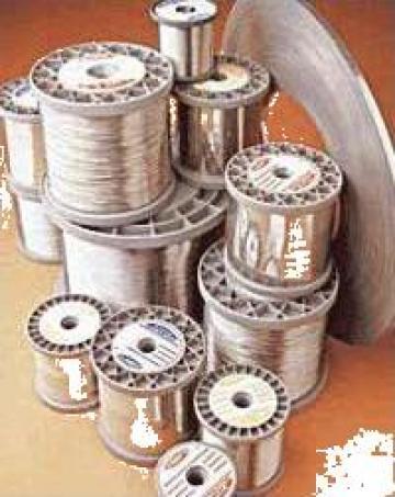Sarma fir nichelina 0.5 mm de la Tehnocom Liv Rezistente Electrice, Etansari Mecanice