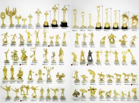 Trofee figurine pentru diverse evenimente de la Prosport Srl