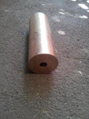 Bucsa CuSn10Pb10 cu dimensiunile 100x25x300 mm de la Baza Tehnica Alfa Srl
