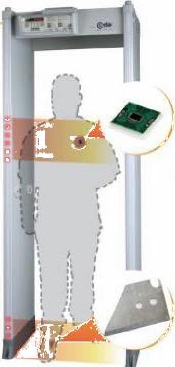 Detector metale Poarta Ultra-sensibil de la Elset Ecs Srl