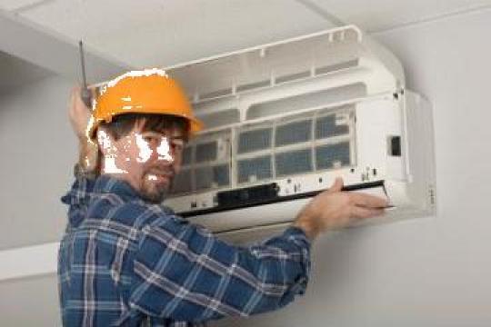 Lucrari instalatii climatizare