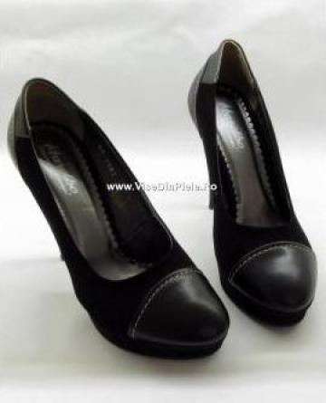 Pantofi piele naturala 1082 anc