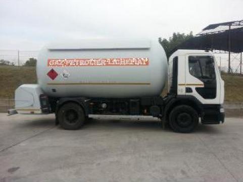 Autocisterna transport GPL