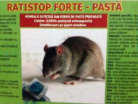Momeala raticida Ratistop Forte de la Panthera Med