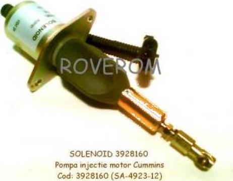 Solenoid 12V, pompa injectie Cummins 6CTA , QSC8.3