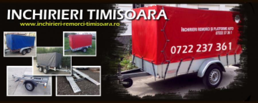 Inchirieri remorci si platforme auto Timisoara de la Trolii-auto.ro